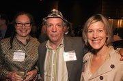 Sara Rothhoz Weiner of the Cuningham Group (left) and Zoran Mojsilov of Krug/Mojsilov (center)