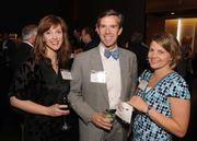 Heather Rose-Dunning of 29 Below Stuido, Jim Vos of Cresa Partners, and Gina Ciganik (left to right)