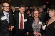 Andrew Dahl of the Ackerberg Group, William Wittrock of RSP Architects, and Kathy Anderson of First American (left to right)