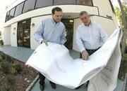 A 2008 file photo of Beacon Investment Properties Managing Members Ariel Bentata and Claudio Dombey.