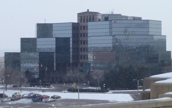 Comcast building in St. Paul