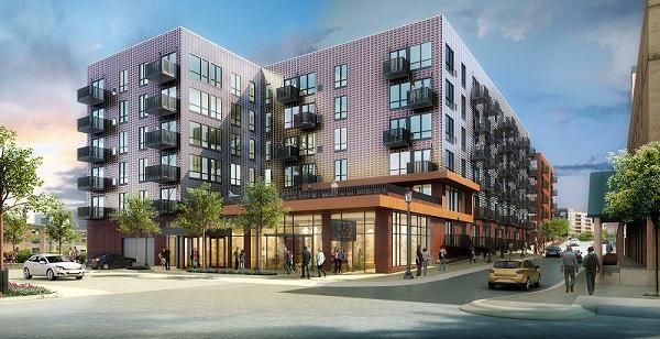 Hines Interests will break ground Sept. 19 at 11 a.m. on the Dock Street Apartments near Target Field.