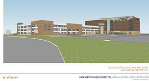 A rendering of the expansion of Fairview Ridges
