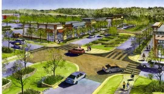McGough Cos. will resume construction next week on a Target-anchored 350,000-square-foot retail center in Inver Grove Heights.
