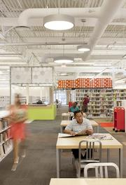 The McAllen library recently won an award from the American Institute of Architects  Minnesota chapter for its interior design.