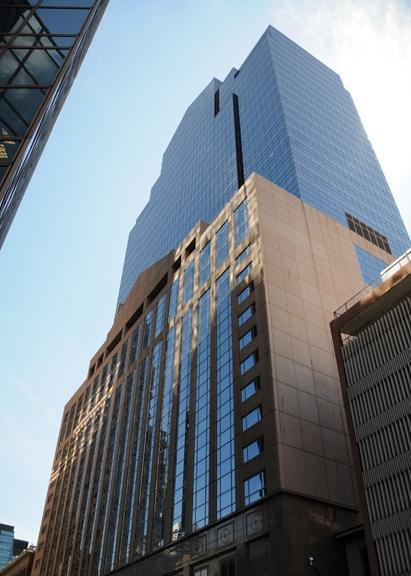 A Target Corp. vendor called Jacobs Marketing is moving from Plymouth to the 21st floor of the Plaza Seven office tower (shown here) in mid-January.
