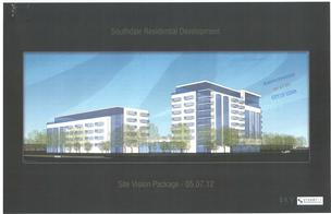 Rendering of the proposed Southdale Residential Development