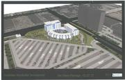 Rendering of the proposed Southdale Residential Development, looking away from the mall.