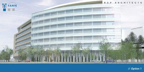 Option 1: Medical center, office building, hotel, restaurant, retail development.