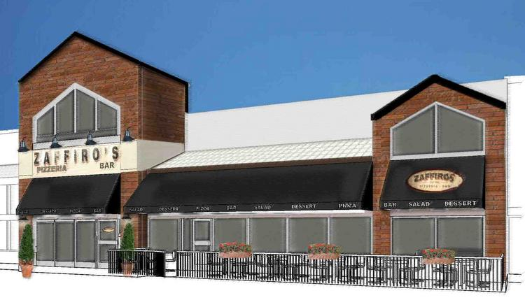 The Marcus Corp. is converting three of its 20 movie auditoriums into a new pizza restaurant and bar at its Waite Park, Minn. property.