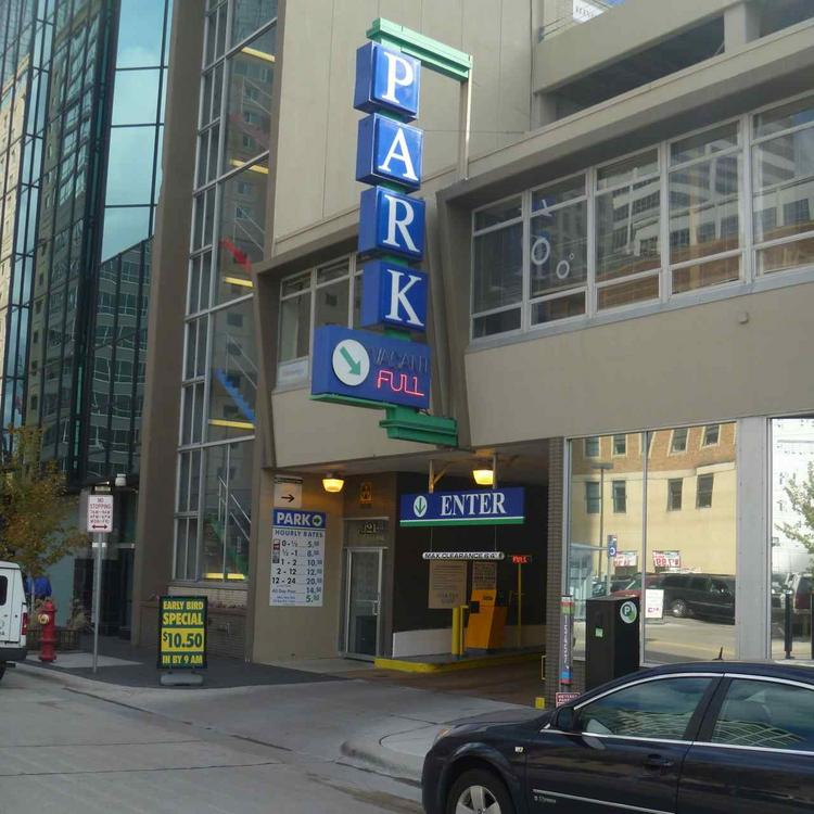 The average parking rate in Minneapolis is $13 day, up 8 percent from 2011, according to a study from Colliers International.
