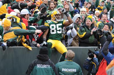 Packers Wide Receiver Greg Jennings