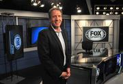 FSN Senior Vice President and General Manager Mike Dimond in the new Studio A.