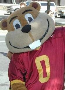 University of Minnesota mascot Goldy Gopher