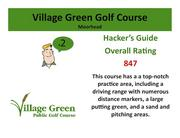 Village Green Golf Course Moorhead >Click hereto read the Hacker's Guide review of this course.
