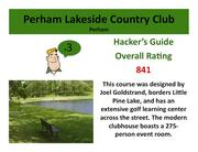 Perham Lakeside Country Club Perham >Click hereto read the Hacker's Guide review of this course.