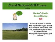 Grand National Golf Course Hinkley Click here to read the Hacker's Guide review of this course
