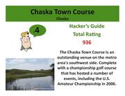 Chaska Town Course Chaska >Click here to read the Hacker's Guide review of this course.