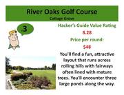 Click on the link to learn more about River Oaks Golf Course