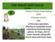 Click on the link to learn more about Oak Marsh Golf Course