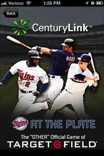 The Minnesota Twins and MLB Advanced Media have launched an interactive mobile game for fans to play while attending games at Target Field.