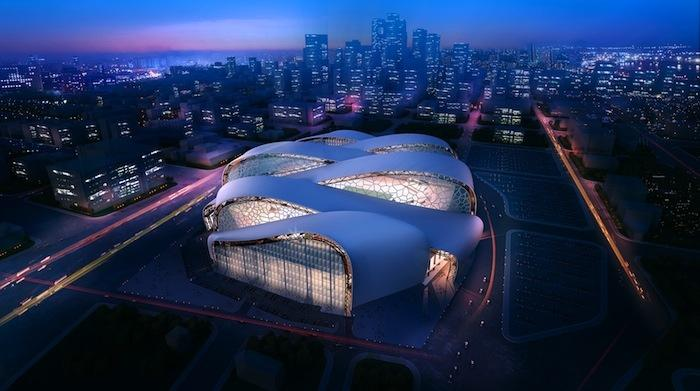 One of the images HKS Sports & Entertainment Group submitted as part of its proposal for the Vikings stadium contract.