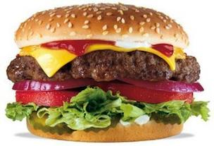 A Hardee's Thickburger