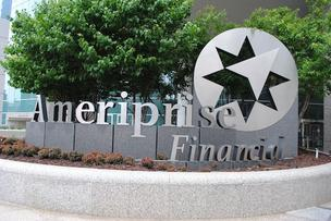 Ameriprise is looking to grow in Asia, Bloomberg reports.
