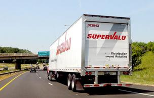 Supervalu Inc. shares skyrocketed more than 30 percent Monday on a report that private equity firm Cerberus Capital Management was trying to arrange up to $5 billion in debt financing to take over the grocer.