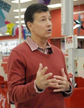 Gregg Steinhafel,CEO of Target