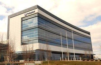 Coloplast's headquarters building in Minneapolis.