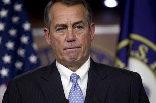 House Speaker John Boehner says Republicans will insist on spending cuts to offset an increase in the federal government's debt ceiling this summer.