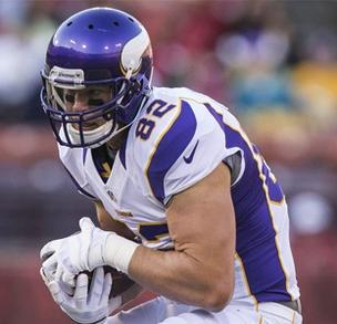 Vikings TE Rudolph named MVP of Pro Bowl