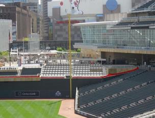 Twins bump Target Field bleachers for drink-rail seating