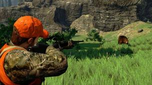 A screenshot from Cabela's Hunting Expeditions, published by Activision.