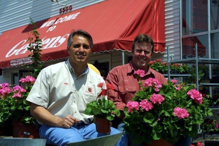 Third-generation co-owners Gino Pitera, left, and Glen Gerten.