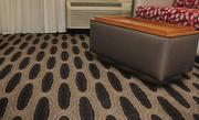 """Marriott describes the new decor as """"modern, chic and sophisticated."""""""