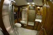 Here is the other bathroom, with the shower on the left and a closet straight ahead.