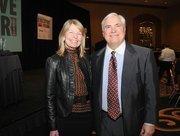 Randy Hogan and his wife, Sara