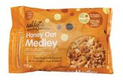 """Malt-O-Meal's Sally's Natural Cereals comes in resealable bags that generate less waste than box cereals while still  creating the image of a """"simple, playful, engaging brand,"""" Kemp said."""