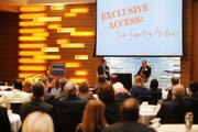 Stan Gadek at the Business Journal's Executive Briefing event Thursday morning.