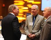 Stan Gadek, left, with Robert Bayer and Dale Severson, both of Coldwell Banker.