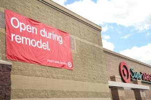 The Super Target in Shoreview is getting remodeled