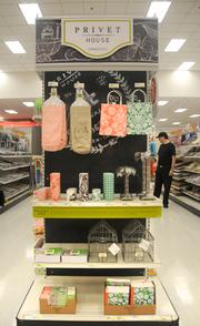"One of the ""Shops at Target"" retailers is The Privet House, a Connecticut-based accessories store."