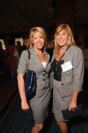 Diane Matschina, left, and Holly Shore, both of Thomson Reuters