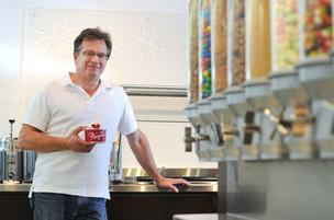 John Mallon, co-founder of Freeziac, sees plenty of opportunity for yogurt-shop growth.