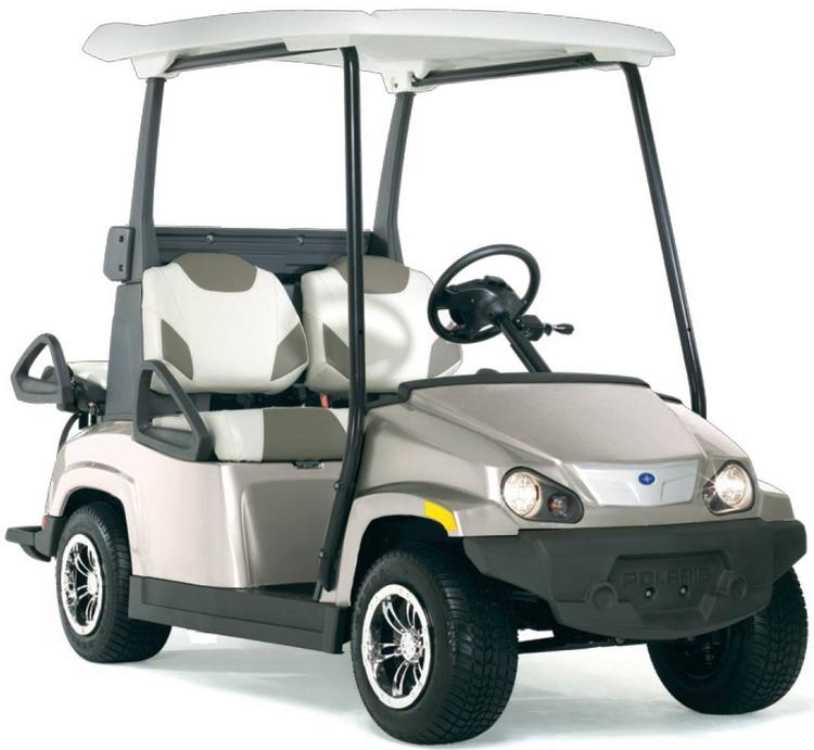 Polaris has hired a Milwaukee ad firm to work with its electric motorcar segment.