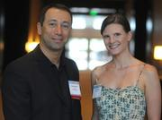 Cem Erdem of Project Skyway and Anne Daly