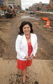 Kathy Meyer, of Meyer Contracting Inc.