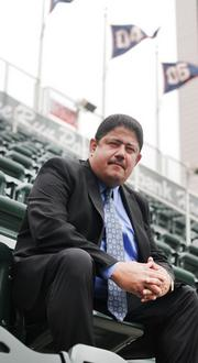 Miguel Ramos, director of emerging markets for the Minnesota Twins